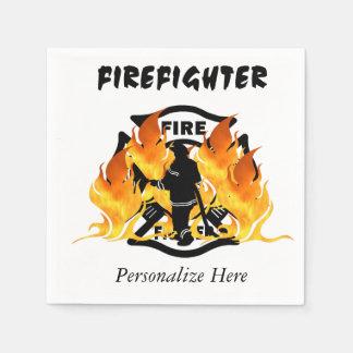 火Deptの炎 スタンダードカクテルナプキン