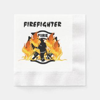 火Deptの炎 縁ありカクテルナプキン