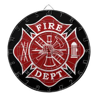 火Dept/消防士の金属のおりのダート盤 ダーツボード