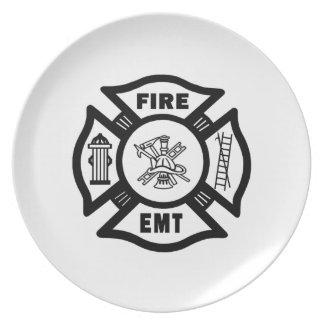 火EMT ディナープレート