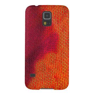 火Fractal_galaxy s5 Galaxy S5 ケース
