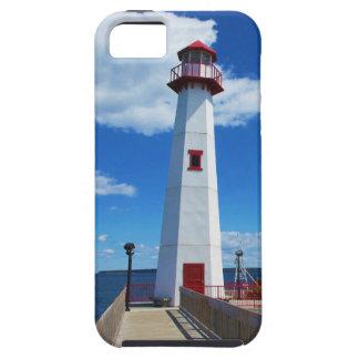 灯台および桟橋 iPhone SE/5/5s ケース
