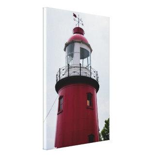 灯台のキャンバスのプリント、ロッテルダムNL キャンバスプリント