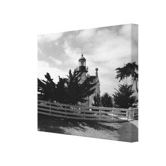 灯台への道 キャンバスプリント