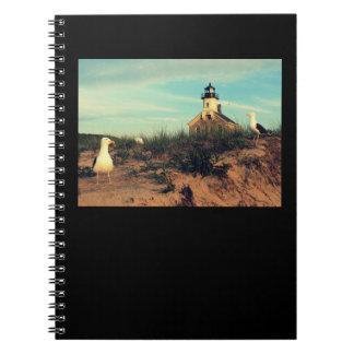 灯台カスタマイズ可能なノートの~の黒 ノートブック