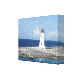 灯台キャンバスのプリント キャンバスプリント