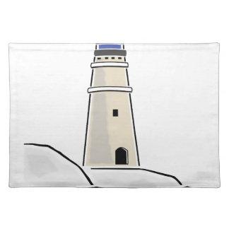 灯台タワーデザイン ランチョンマット