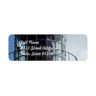 灯台ライト郵送物のラベル ラベル