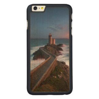 灯台日没Plouzané | Finistère、ブリッタニー CarvedメープルiPhone 6 Plus スリムケース