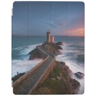 灯台日没Plouzané | Finistère、ブリッタニー iPadスマートカバー