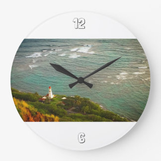 灯台時間 ラージ壁時計