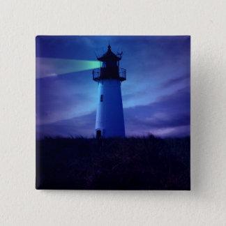 灯台標識Pin 5.1cm 正方形バッジ
