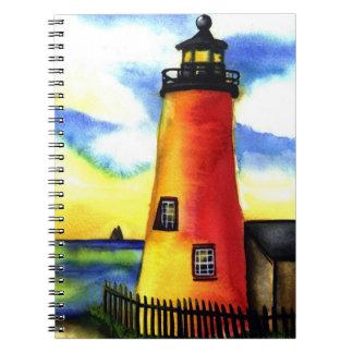 灯台水彩画のノートジャーナル ノートブック