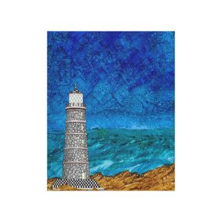 灯台海景 キャンバスプリント
