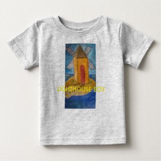 灯台男の子 ベビーTシャツ