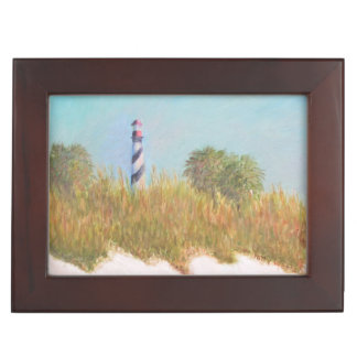 灯台眺めの記念品箱 ジュエリーボックス