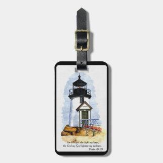 灯台荷物のラベル ラゲッジタグ