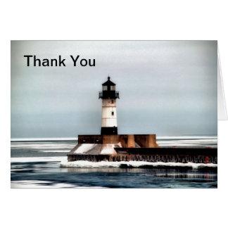 灯台、ありがとう カード