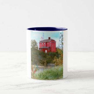 灯台 ツートーンマグカップ