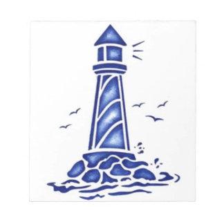 灯台 ノートパッド