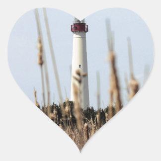 灯台 ハートシール