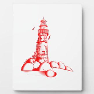 灯台 フォトプラーク