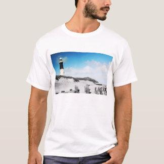灯台、ヨークシャの人のTシャツをはねつけて下さい Tシャツ