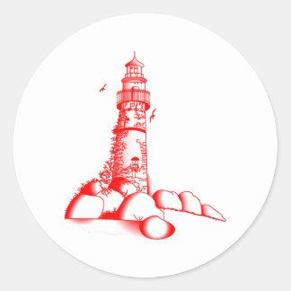 灯台 ラウンドシール
