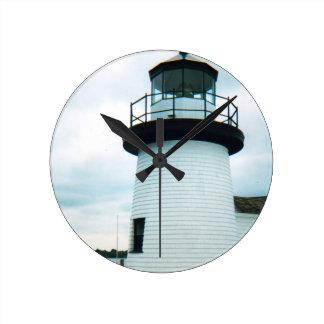 灯台 ラウンド壁時計