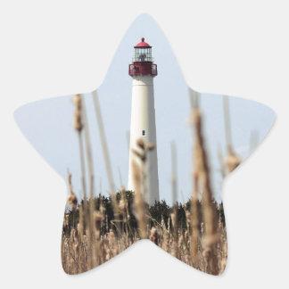 灯台 星形シールステッカー