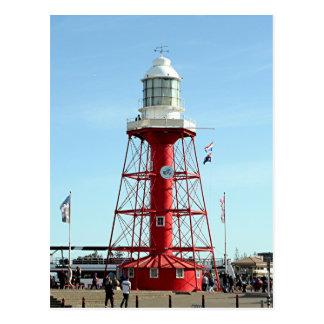 灯台、港アデレード、オーストラリア ポストカード