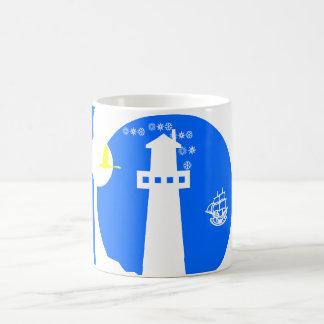 灯台、船 コーヒーマグカップ
