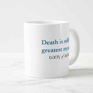 灰のジャンボマグ-死の最も素晴らしいミステリーの女性 ジャンボコーヒーマグカップ