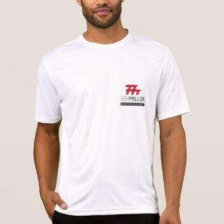 灰のミラーMotorsportのフィットネスの変種 Tシャツ