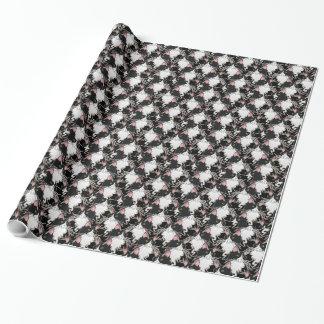 灰の包装紙 ラッピングペーパー