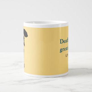 灰の女性、ジャンボマグ-死の最も素晴らしいミステリー ジャンボコーヒーマグカップ