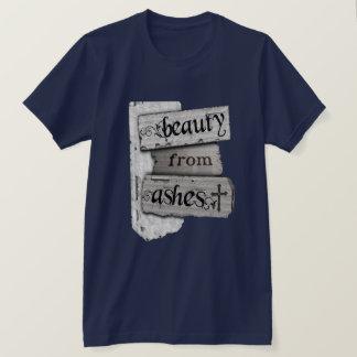 灰キリスト教ジャーナルノートからの美しい Tシャツ