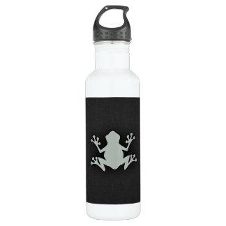 灰灰色のカエル ウォーターボトル