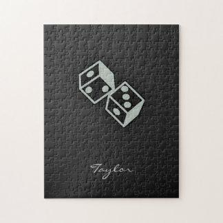 灰灰色のサイコロ ジグソーパズル