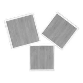 灰灰色のタケ木製の穀物の一見 アクリルトレー