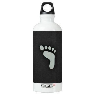 灰灰色の足跡 ウォーターボトル