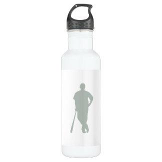 灰灰色の野球 ウォーターボトル