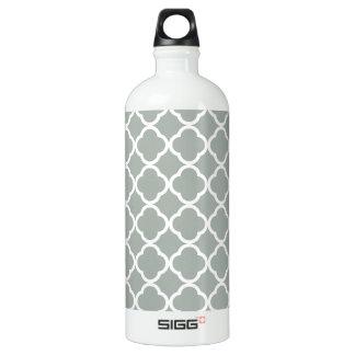 灰灰色; 灰色のクローバー ウォーターボトル