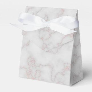 灰色およびローズピンクの大理石 フェイバーボックス