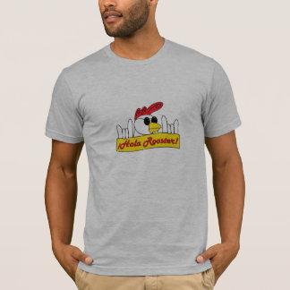 灰色および合われる Tシャツ