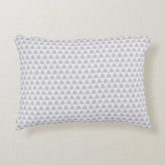 灰色および白いタイル幾何学的なパターン装飾用クッション アクセントクッション