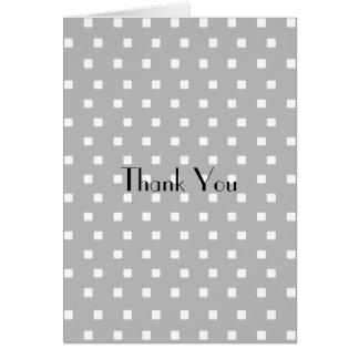 灰色および白い四角 カード