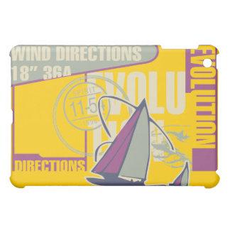 灰色および金ゴールドの航海 iPad MINI CASE