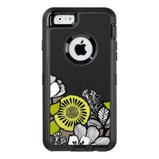 灰色によってはカワウソ箱のiPhone 6/6sの箱が開花します オッターボックスディフェンダーiPhoneケース