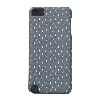 灰色のかわいく小さいペンギン iPod TOUCH 5G ケース
